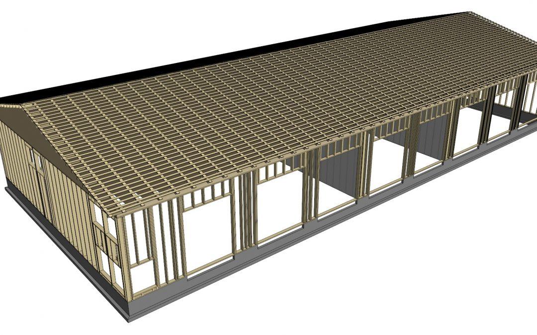 Teollisuushallin rakennesuunnittelu