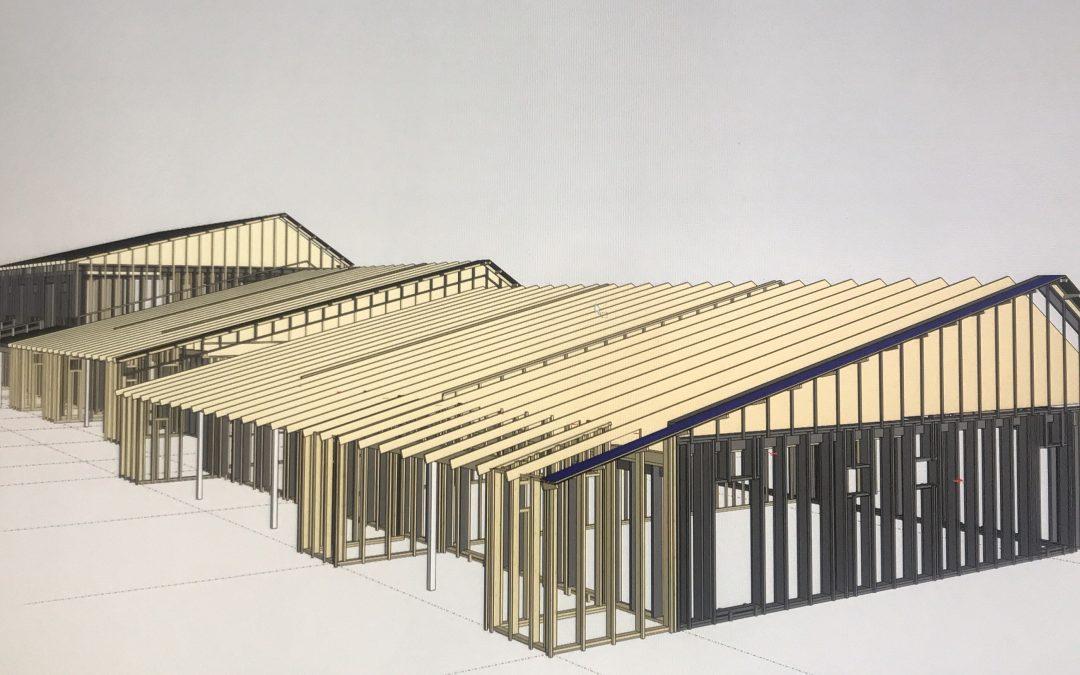 Rivitalon rakennesuunnittelu, elementtisuunnittelu ja perustussuunnittelu
