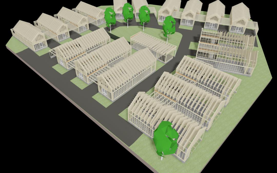 Erillistalojen rakennesuunnittelu ja elementtisuunnittelu