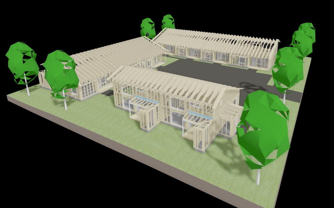Rivitalojen rakennesuunnittelu ja elementtisuunnittelu
